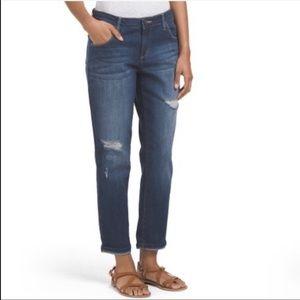 Jessica Simpson Monroe Boyfriend Distressed Jeans